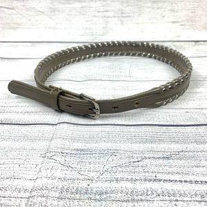 Cimarron Woven Gray Waist Belt   SZ 28